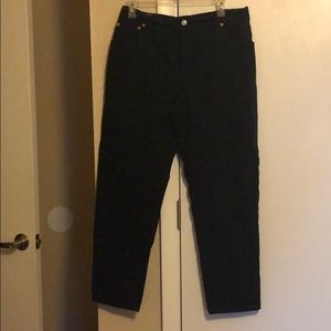 Woman's Levi's classic relaxed stretch